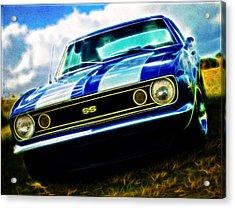 1967 Chevrolet Camaro Ss Acrylic Print by Phil 'motography' Clark