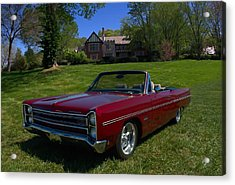 1967 Plymouth Fury IIi Convertible Acrylic Print by Tim McCullough