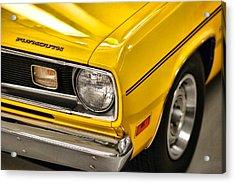 1970 Plymouth Duster 340 Acrylic Print by Gordon Dean II