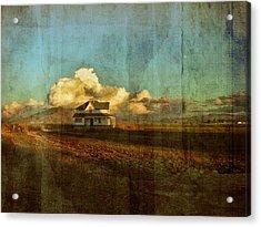 Abandoned Acrylic Print by Bonnie Bruno