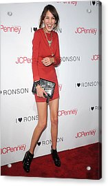 Alexa Chung At Arrivals For The Acrylic Print by Everett