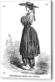 Amelia Bloomer (1818-1894) Acrylic Print by Granger