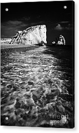 Aphrodites Rock Petra Tou Romiou Republic Of Cyprus Europe Acrylic Print by Joe Fox