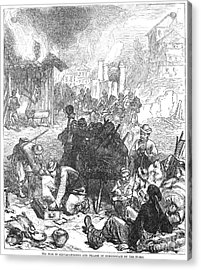 Balkan Insurgency, 1876 Acrylic Print by Granger