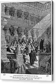 Belshazzars Feast Acrylic Print by Granger