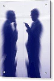 Businessmen Acrylic Print by Pasieka