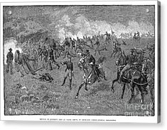 Chancellorsville, 1863 Acrylic Print by Granger
