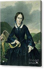 Charlotte Bront� Acrylic Print by Granger