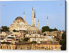 City Of Istanbul Acrylic Print by Artur Bogacki