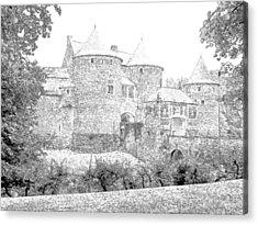 Corroy Le Chateau Gembloux Belgium Acrylic Print by Joseph Hendrix