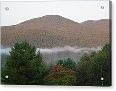 Early Autumn In Vermont Acrylic Print by Margrit Schlatter