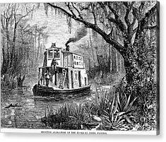 Florida: St. Johns River Acrylic Print by Granger