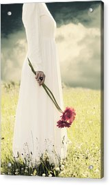 Flowers Acrylic Print by Joana Kruse
