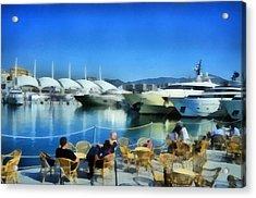 Genova Salone Nautico Internazionale - Genoa Boat Show Acrylic Print by Enrico Pelos