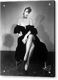 Gypsy Rose Lee (1913-1970) Acrylic Print by Granger