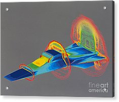 Hyperx Hypersonic Aircraft Acrylic Print by Science Source