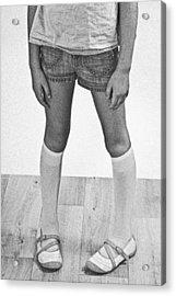 Legs Of A Girl Acrylic Print by Joana Kruse