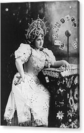 Lillian Russell 1861-1922, American Acrylic Print by Everett
