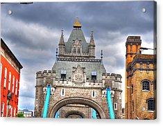 London Acrylic Print by Barry R Jones Jr