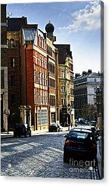 London Street Acrylic Print by Elena Elisseeva