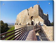 Neamt Fortress Acrylic Print by Gabriela Insuratelu