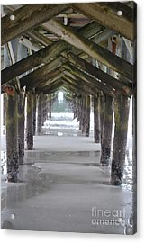 Neptunes Cathedral Acrylic Print by Gordon Mooneyhan