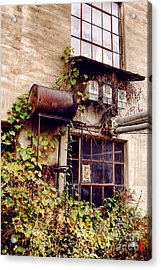Noble And Cooley Drum Factory Acrylic Print by HD Connelly