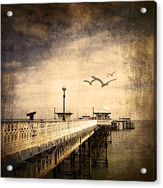 Pier Acrylic Print by Svetlana Sewell