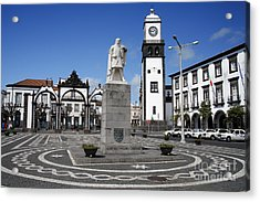 Ponta Delgada Acrylic Print by Gaspar Avila