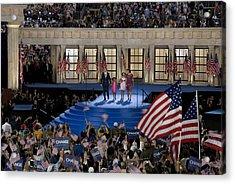 Presidential Candidate Barack Obama Acrylic Print by Everett
