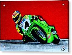 Speed Demon...... Acrylic Print by Tanya Tanski