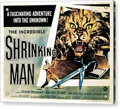 The Incredible Shrinking Man, 1957 Acrylic Print by Everett