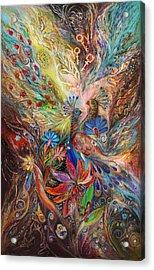 The Three Keys Acrylic Print by Elena Kotliarker