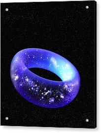 Torus Universe, Artwork Acrylic Print by Mehau Kulyk