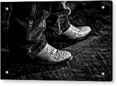20120928_dsc00448_bw Acrylic Print by Christopher Holmes