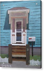 21 Wonson St Acrylic Print by Claire Gagnon