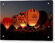 Balloons Acrylic Print by Rick Rauzi
