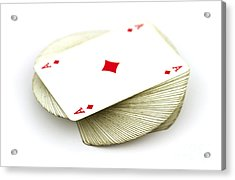 Ace Card Acrylic Print by Blink Images