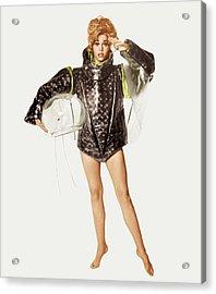 Barbarella, Jane Fonda, 1968 Acrylic Print by Everett