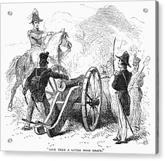 Battle Of Buena Vista Acrylic Print by Granger