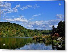 Big Ditch Lake Acrylic Print by Thomas R Fletcher