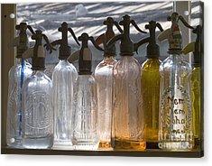 Bottle Of Water   Acrylic Print by Odon Czintos