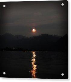 Full Moon Acrylic Print by Joana Kruse