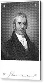 John Marshall (1755-1835) Acrylic Print by Granger