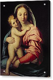 Madonna And Child Acrylic Print by Il Sassoferrato