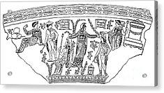 Mythology: Perseus Acrylic Print by Granger