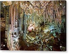 Nerja Caves In Spain Acrylic Print by Artur Bogacki