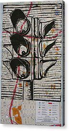 Signal Acrylic Print by William Cauthern