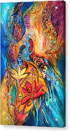The Grapes Of Holy Land Acrylic Print by Elena Kotliarker