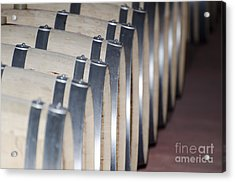 Wine Barrels Acrylic Print by Mats Silvan